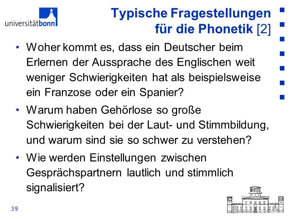 Typische Fragestellungen für die Phonetik [2]